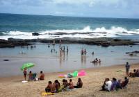 In spiaggia per il banchetto della dea