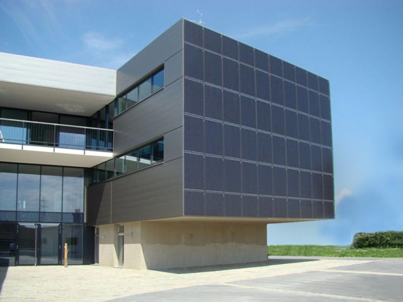 (L'edificio passivo di un'azienda privata)
