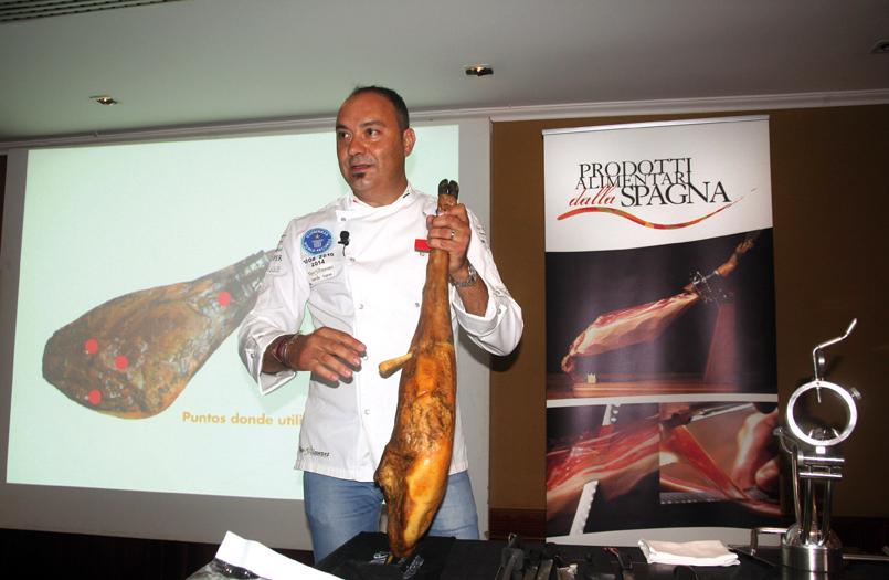 Nico Jiménez in azione  (foto Redazione lamadia.com)