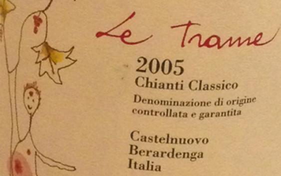 """Chianti Classico """"Le Trame"""". Ecco."""