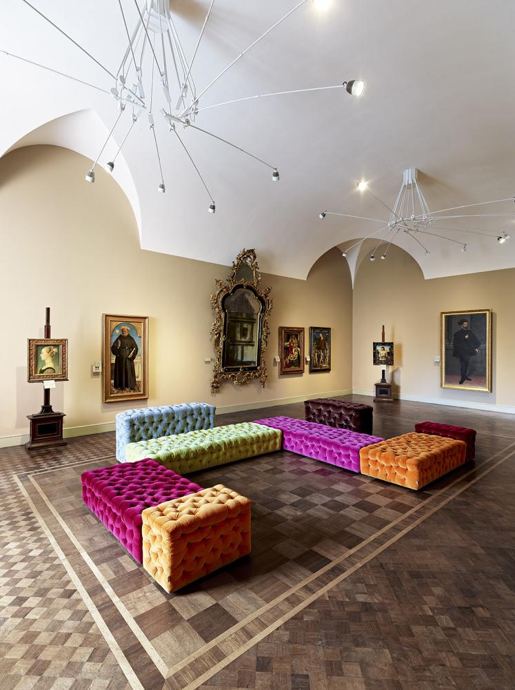 Salone Dorato – fotografia © Fregoso Basalto, Museo Poldi Pezzoli, Milano