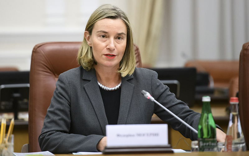 (Federica Mogherini @Volodymyr Groysman – Cabinet of Ukraine)