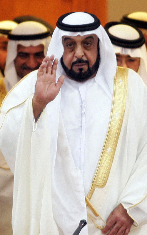 (Khalifa bin Zayed Al Nahyan @ Crown Prince Court of Abu Dhabi)