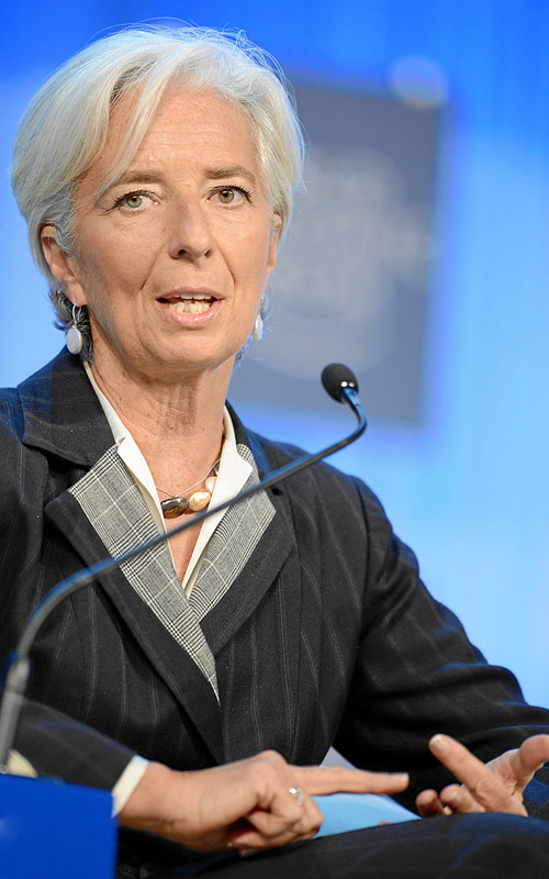 (Christine Largarde @ World Economic Forum)